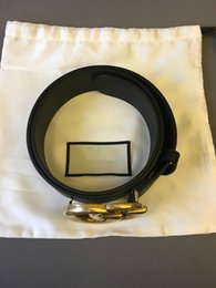 Wholesale Men Wide Leather Belt - Wholesale 2.0   3.4   3.8cm wide bronzed buckle belt high quality brand designer genuine leather waist belts for men women girls boys belt