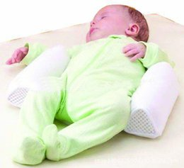 Wholesale Baby Sleeping Roll - Baby Pillow Newborn Comfortable Cotton Anti Roll Pillow Lovely Baby Toddler Safe Cartoon Sleep Head Positioner Anti-rollover