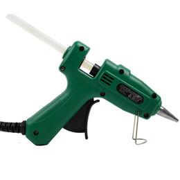 Freeshipping 25W Hot Melt Glue Gun fai da te Mini colla pistola per metallo / legno lavoro bastone di carta tornante PU strumenti di riparazione del fiore da bastoni di carta diy fornitori