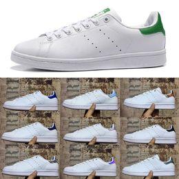 sandales de mariée Promotion Adidas Superstars shoes Chaussures pas cher stan fashion smith marque Top qualité hommes femmes nouveau baskets en cuir sport chaussures de course taille 36-45 eur