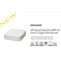 Wholesale Dvr Channels Dahua - DAHUA NEW Product 4 8 Channel Penta-brid 1080P Lite Smart 1U Digital Video Recorder Without Logo XVR5104C XVR5108C