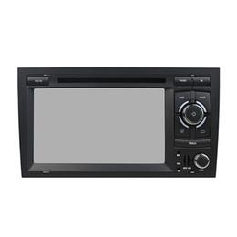 tela de toque audi Desconto Leitor de DVD Carro para Audi A4 4 GB Ram Octa-core 7 polegadas Andriod 8.0 com GPS, controle de volante, Bluetooth, rádio