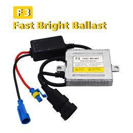 Wholesale xenon ballasts - SKYJOYCE 1 Piece Fast Bright F3 35W HID Slim Ballast Quick Start Digital Xenon Ballasts 12V for Car HID Xenon Headlights Kit