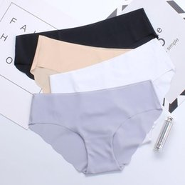 Wholesale Thinnest Underwear Women - Wholesale-Special Offer New seamless Top DuPont Fabric Ultra-thin Comfort No trace Women Underwear Panties Briefs