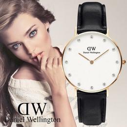 Wholesale Women Watch Bracelet Elegant - Wellington 2017 Fashion Casual Clock 36mm Bracelet Watch Women Rhinestone Watches Women's Elegant Quartz Wrist Watch Ladies Relogio Feminino