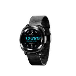 notification bluetooth Promotion Nouveau IP68 Étanche L2 Smart Watch Charge Magnétique MTK2502 Écran Tactile Bluetooth 4.0 Étapes Sommeil Moniteur Moniteur Cardiaque Notifications Sync