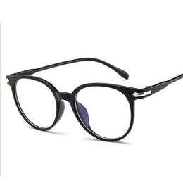 lunettes à lunette ronde transparente Promotion Mode Femmes Transparent Lunettes Cadre Femmes Rétro Lunettes Cadre Vintage Rond Clair Lentille Lunettes Myopia Optique Spectacle Fram