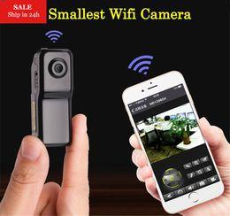 Wholesale ip camera video recording - Smarcent MD81S Mini Camera Wifi IP P2P Wireless Camera Secret Recording CCTV Android iOS Camcorder Video Espia Nanny Candid