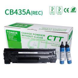 Wholesale Compatible Laser - CTT Toner Cartridge CB435A Compatible For HP 435A P1005 P1006 Canon Laser Shot LBP3018 3108 3050 3150 3010 3100 Refillable