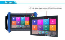 7 Inch Full Functional H.265 4K 6 In 1 CCTV Tester Monitor H.265 4K  H.264 IP+TVI 8MP+CVI 8MP+AHD 5MP+Analog CCTV Tester