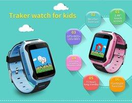 Escolha de crianças on-line-Q529 y21 gps crianças smart watch com 1.44 polegada tela OLED Muti-funtion 3 cores para a escolha com caixa de varejo frete grátis