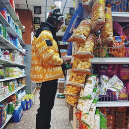Argentina 18FW N X S Conjunto de chaqueta de Down Nueva carta bomba abrigo Fahion chaqueta caliente hombre y mujeres de alta calidad abajo chaqueta HFBYYRF044 Suministro