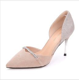 Tiendas de zapatos de boda online-boda / fiesta de baile de compras moda alfombra roja trabajo transpirable marca barata zapatos rojo endrinas mujeres bombas zapatos de tacón alto, 10.5 talón