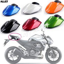 Carenados verde azul online-Cubierta trasera del asiento de la motocicleta Cowl Tail Fairing para Kawasaki Z800 2013 2014 2015 Verde Azul Negro Naranja Rojo