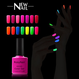 Wholesale Glow Nail Gel - Hot Sell 273 colors Candy Color Fluorescent Neon Luminous Gel Nail Polish for Glow in Dark Nail Varnish Manicure Enamel For Bar Party