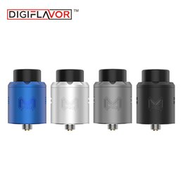 Wholesale Atomizer Mesh - Digiflavor Mesh Pro RDA supports Mesh Wires and Standard Single Dual Coils Rebuildable Dripper Atomizer with BF Pin for Squonk Mods