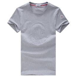 Argentina 2018 Luxury Brand M design Camisetas de manga corta para hombre 5035C Francia Moda casual Otoño invierno algodón Polos tops Cuello redondo tees cheap polo tee design Suministro