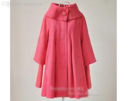 Ropa coreana xxl online-Al por mayor-S-XXL Nuevo Otoño Invierno de Corea Moda abrigo de lana Mujeres rompevientos capa prendas de vestir exteriores Maternidad Mujeres Embarazadas Ropa 1088