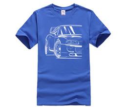 Argentina Estilo DIY para hombre camisetas Hombre Popular Race Car 2JZ Homme Camisetas S-XXXL Cool Men Camisetas 100% tela de algodón cheap racing cool shirt Suministro