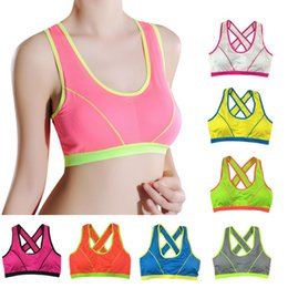1b752913f9f00 Femmes sans couture Fitness Yoga Tank Top Workout Gym Sports Bra Padded  Racerback 43BP