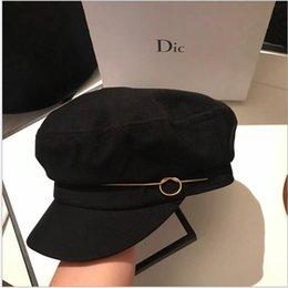 головные уборы для дам Скидка Роскошный бренд леди hat утка язык берет осень зима роскошный бренд шляпа леди Англии сладкий прекрасная женщина шляпа