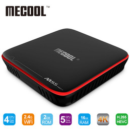 Wholesale Android Tv Dlna - MECOOL M8S PRO W Android 7.1 TV Box S905W Quad Core 2G 16G Smart Tv Box 3D 4K Wifi Miracast DLNA Set-top Box