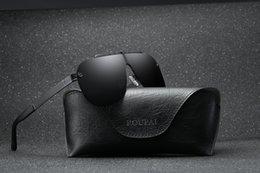 Beste fahren sonnenbrillen polarisiert online-2018 neue beste verkaufende polarisierte retro einteilige sonnenbrille mehrere farben outdoor fahren mode bequem männer sonnenbrille