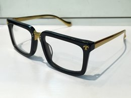 Wholesale Plastic Mirror Squares - Fashion Eyeglass First Sight Glasses Prescription Men Eyeglasses Frame Brand Designer Prescription Glasses Vintage Frame Steampunk Style