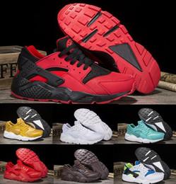 Wholesale Men Popular - Huarache Running Shoes Men Women Grey Airlis Huaraches Sports Tennis Popular Men's Women's Zapatillas Deportivas Brands Original Sneakers