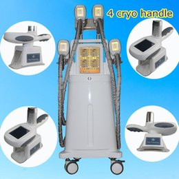 Wholesale ce options - Four Handles Work Same Time Cryolipolysis Fat Freezing Machine Cool Sculpting Cryolipolysis Body Slimming Machine With 4 handle For Option