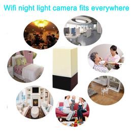 aktiviert iphone Rabatt HD 1080 P WiFi LED Nachtlicht Kamera Wireless Überwachungskamera Bewegung aktiviert Nanny Cam Nachtsichtkamera Home Office für Android iPhone
