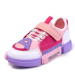 1.5 zapatos casuales de niños online-Zapatillas de running para niños Zapatillas de deporte para niños Zapatillas casual para niños Zapatillas de deporte de diseño al aire libre Moda 2018 Confort