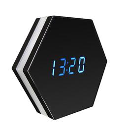 Wholesale Ip Electronics - Mini Camera Night Vision Electronic Clock Wireless WIFI Camera IP P2P CCTV TV Baby Monitor Home Security Monitoring