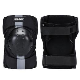 Motocicleta armadura cotovelo joelho almofadas on-line-Cotovelo joelho Shin Armor Protector Guard Pads para motocicleta bicicleta Racing Moda