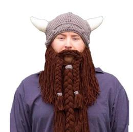 funny beanies hats men 2019 - Handmade Nre Christmas Hat European And  American Mustache Hat Handmade bc953a4132a