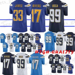 5a25909ee Chinese 99 Joey Bosa Los Angeles Charger jersey 17 Philip Rivers 33 Derwin  James Top quality