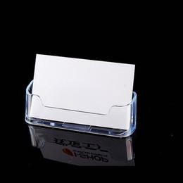 Visite Acrylique En Plastique Support Rack Bureau Home Office Fournitures De Stockage Livraison Gratuite QW7148 Cartes Transparentes Pas Cher