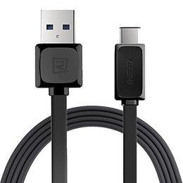 2019 câbles remax type c Câble de données Remax Type-C Micro USB 1M Câble de données de charge rapide 2.1A à deux sorties 2.1A Sync non original câbles remax pas cher