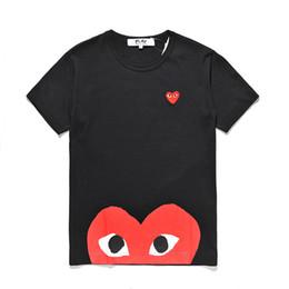 Canada Mens designer T-shirts DES Pullover TEE sport été manches courtes coeur yeux d'amour T-Shirt Hot Mens T-shirts peur de Dieu cheap love heart t shirts Offre