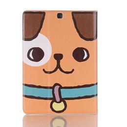 El estuche Lwather de PU de dibujos animados para perro para Huawei Mediapad M5 SHT-AL09 SHT-W09 8.4