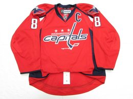 Wholesale Cheap Hockey Jerseys Washington - Cheap custom ALEX OVECHKIN WASHINGTON CAPITALS Ice hockey jerseys HOME Stitched EDGE JERSEY