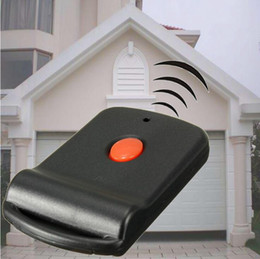 Wholesale mhz transmitter - Mini Wireless Remote Garage Control Key Door Gate Opener Transmitter Fit For 300 MHz Multicode Gate Garage Door Opener OOA4969
