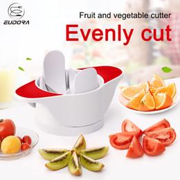 Küchenutensilien gadgets großhandel online-Großhandel Multifunktions Obst Gemüse Werkzeuge Apple Slicer Edelstahl Küchenhelfer Utensilien Gadgets Schneiden Zubehör