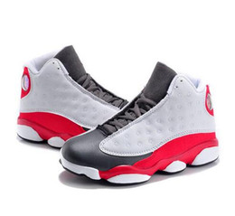 Wholesale army shoes for kids - Designer 13 Cheap New 13s Kids basketball shoes for Boys Girls sneakers Children Babys 13s shoes Size 11C-3Y
