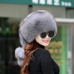 Cappello di pelliccia di volpe Nuovo cappello di pelliccia di volpe Bambini  Inverno all aperto Caldo vento nazionale Principessa Cap 2391300d6998