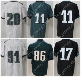 Wholesale Ivory Logo - 2018 New American Football Jersey With Super Patch Name Brand logo Custom Men Women Youth Kids 9 11 17 20 Green Black White Blue Lll Limited