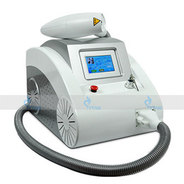 Wholesale Laser Hair Remover Machine - Hot Touch Screen 1000W Q Switched Nd Yag Laser Beauty Salon Machine Tattoo Eyebrow Pigment Removal Scar Acne Remover 1320nm 1064nm 532nm