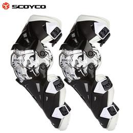 Almofadas de joelho scoyco on-line-Scoyco K12 Motocicleta joelheiras Motocross joelheira Esporte Scooter de proteção joelheira motocicleta protetores de joelheiras