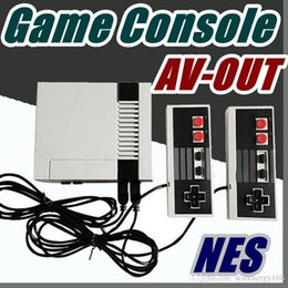Wholesale mini pc av - free EMS Nostalgic Host Sale Mini TV RCA Video AV-OUT Game Console Handheld mini pc for NES Games with retail box A-JY