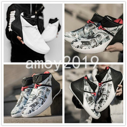 edd3a476f6a 2018 New Russell Westbrook Why Not Zero One 1 Mens Trainers Basketball Shoes  for Black White Graffiti 1s Athletics Sneakers Size 40-46